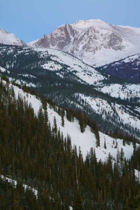 Scenic Eldora Mtn, CO.