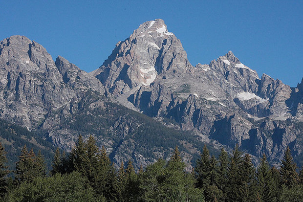 As massive as the Grand Teton looks from Moose Visitor Center, Exum Guides makes it attainable. - ©Glen Molsen/Flickr