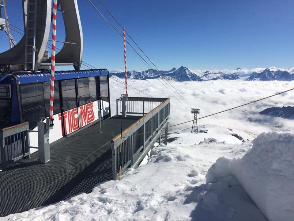 Grande Motte Glacier, Tignes June 26, 2016 - ©Fred Club Med