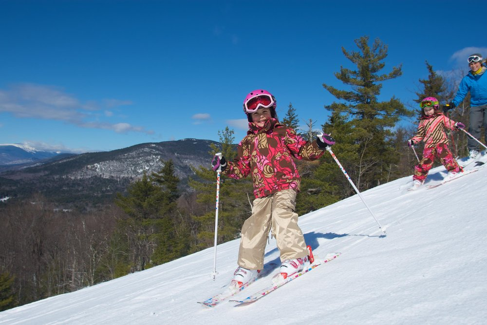 Skiing at Cranmore, NH.