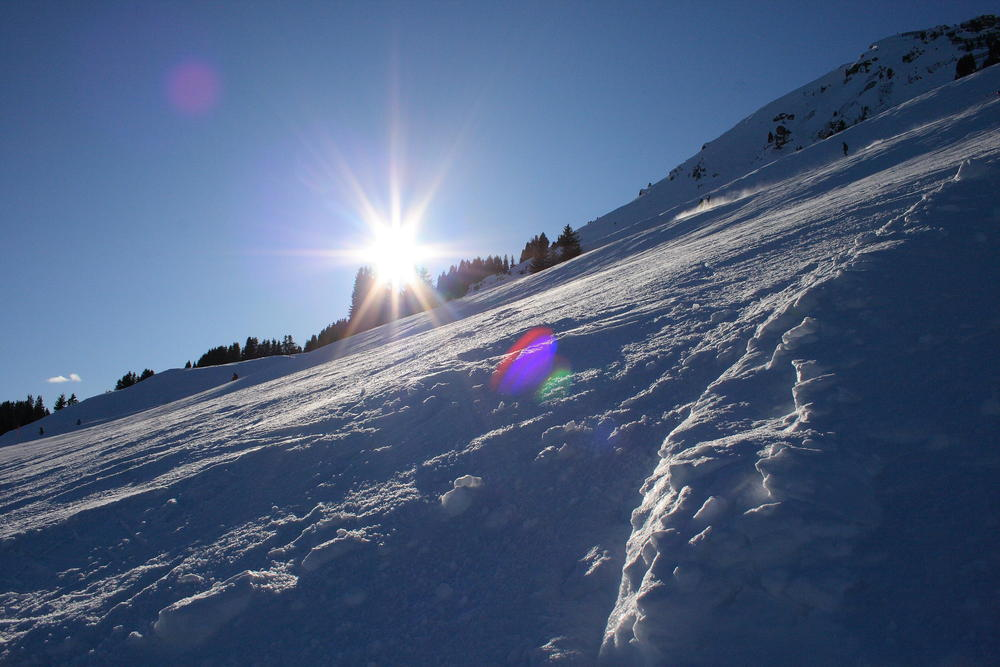 The sunny slopes of Soell, Austria. Söll, © Tobias Krimmling / PIXELIO