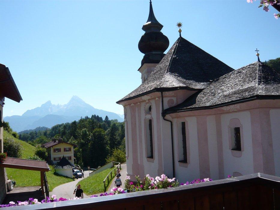 Hotel und gasthaus maria gern berchtesgaden oberbayern for Design hotel oberbayern
