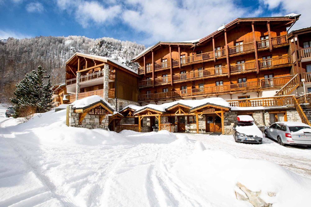 La foret val d 39 is re for Hotels val d isere