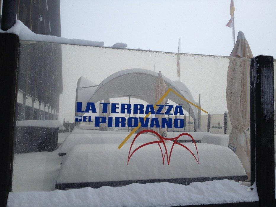 Neve fresca a Passo Stelvio, 10 Ottobre 2016 - ©Pirovano Stelvio Facebook