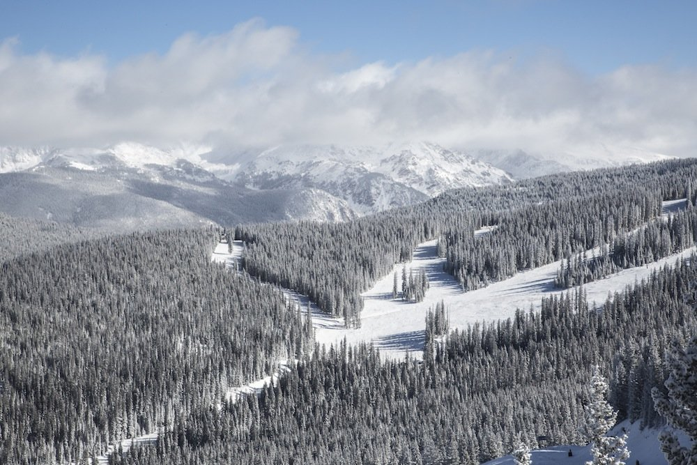 Like many U.S. resorts, Vail is looking more than ready for their 11/25 opening day. - ©Dave Neff
