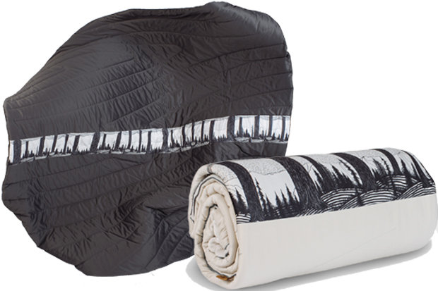Rumpl Jercollins Super Fleece blanket: Price varies with size, 20% off with code RuMPL-ALL-THE-WAY through Nov. 28th. Once you've been engulfed in this blanket, there's no going back, so be sure there's always room in the whip on the weekend ski trip. This oh-so-soft, incredibly warm fleece blanket will have you immersed in the woods with its cool design and features technical performance and stain resistance capabilities while also being machine washable as a backup.
