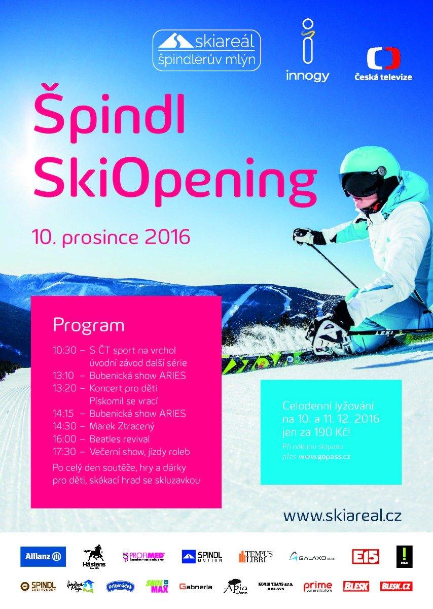 Špindl Ski Opening 2016 - ©Skiareál Špindlerův Mlýn