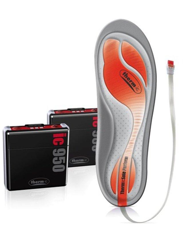 Disse sålene er geniale for skikjøreren som aldri blir varm på føttene. - ©http://www.therm-ic.com/