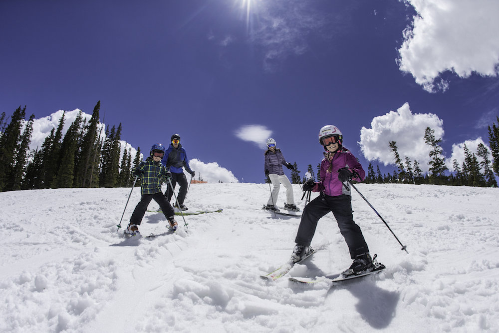 Kids under five ski free at Arapahoe Basin.  - ©Dave Camara