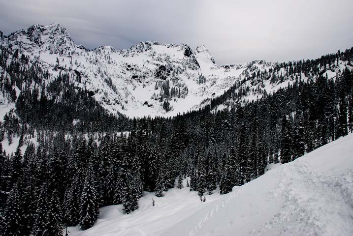 Scenic Alpental, WA near Source Lake.