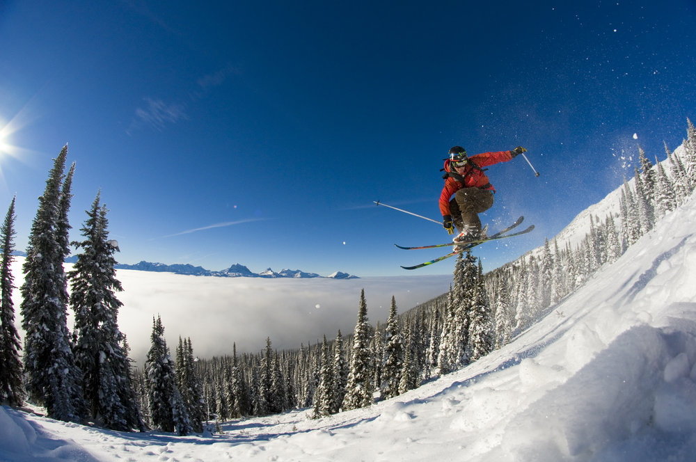 Jake Teuton at Revelstoke Mountain Resort, BC Photo: Revelstoke Mountain Resort/Fred Marmsater