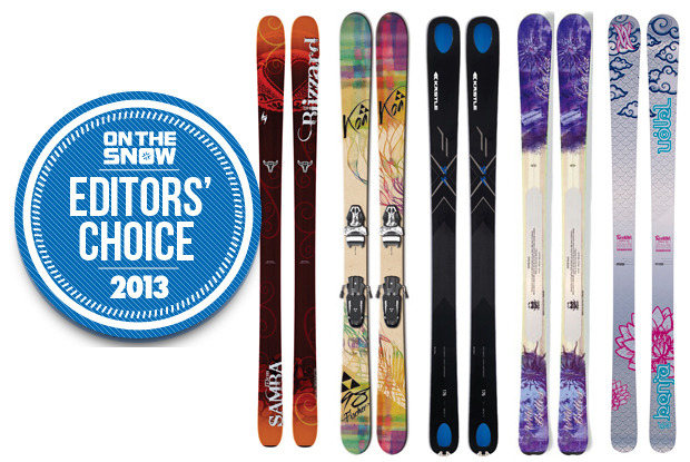 2013 OTS Editors' Choice Women's All Mountain Skis