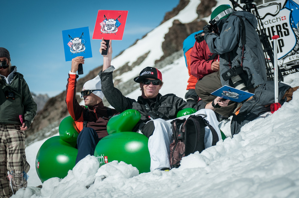 Judges at 2012 Swatch Skiers Cup - ©Swatch Skiers Cup