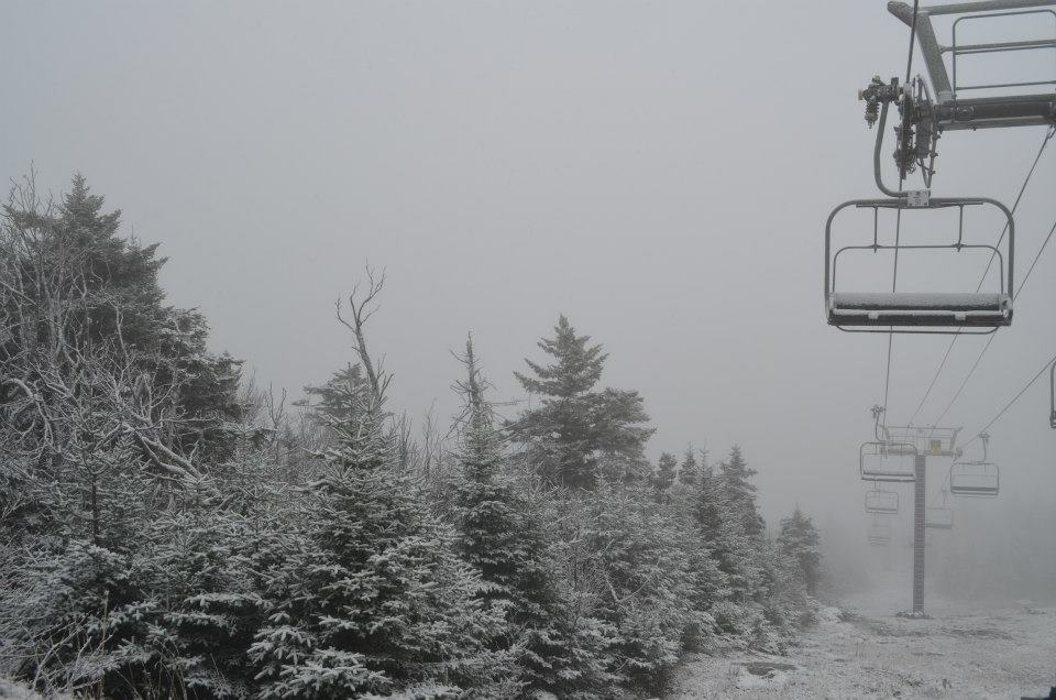 Snowing in the Green Mountains at Okemo. - ©Okemo/Facebook