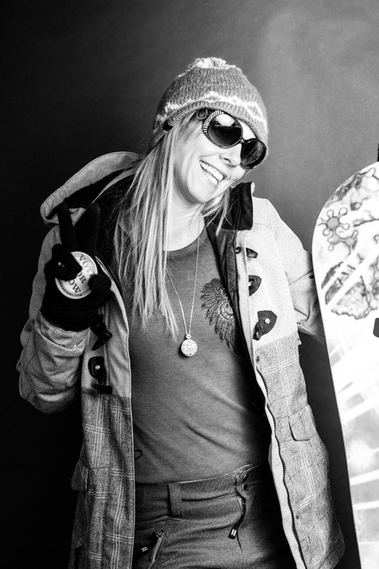 Shannon Wenney / Arapahoe Basin Opening Day 2012 - ©Liam Doran