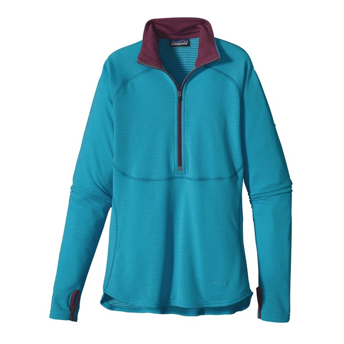Patagonia Women's Capilene 4 Expedition Weight Zip-Neck