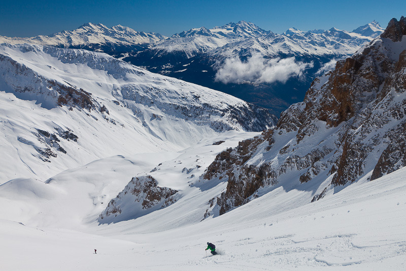 Skiing in Leukerbad, Switzerland - ©Iris Kürschner/powerpress.ch