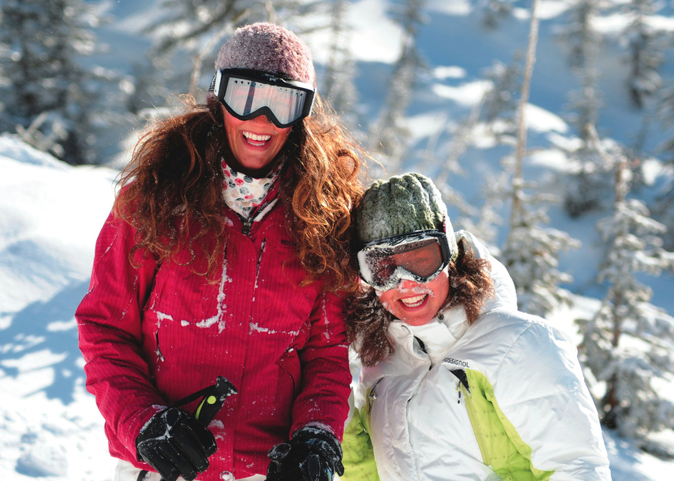 Smiling faces at Big White. Photo courtesy of Big White Resort.