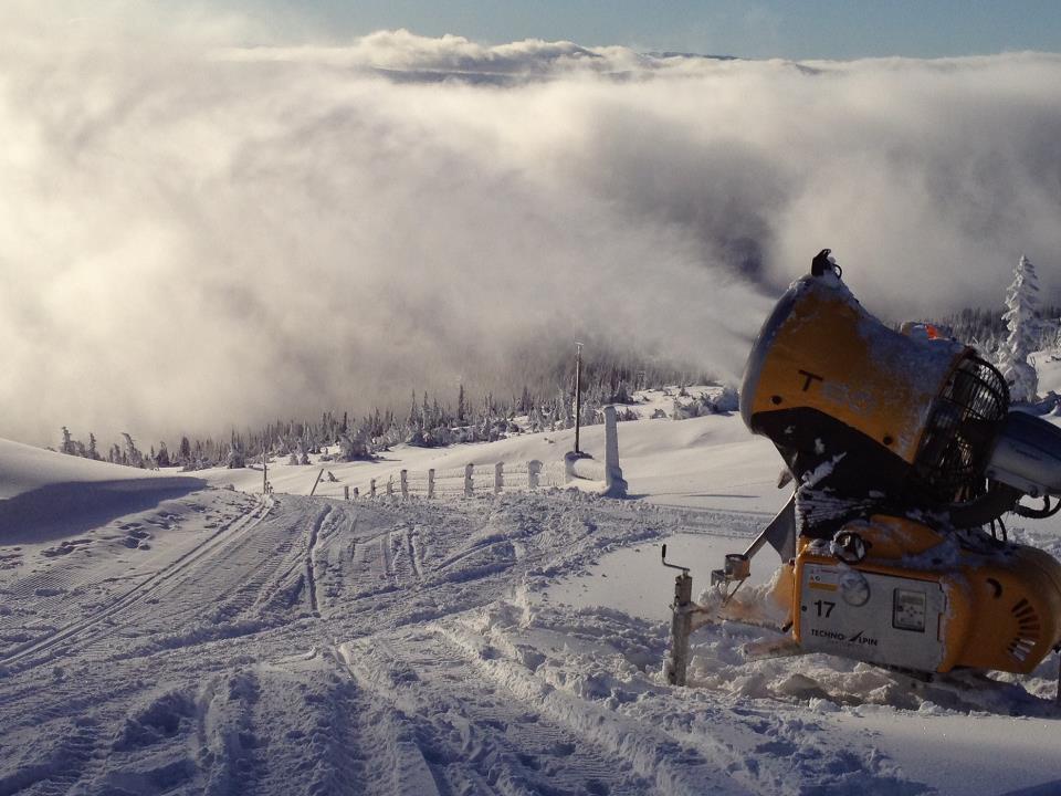 Snøproduksjon Bøeseter, Norefjell