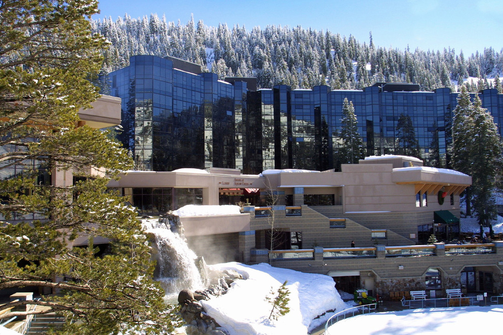 The Resort at Squaw is just steps away from the mountain - ©Resort at Squaw