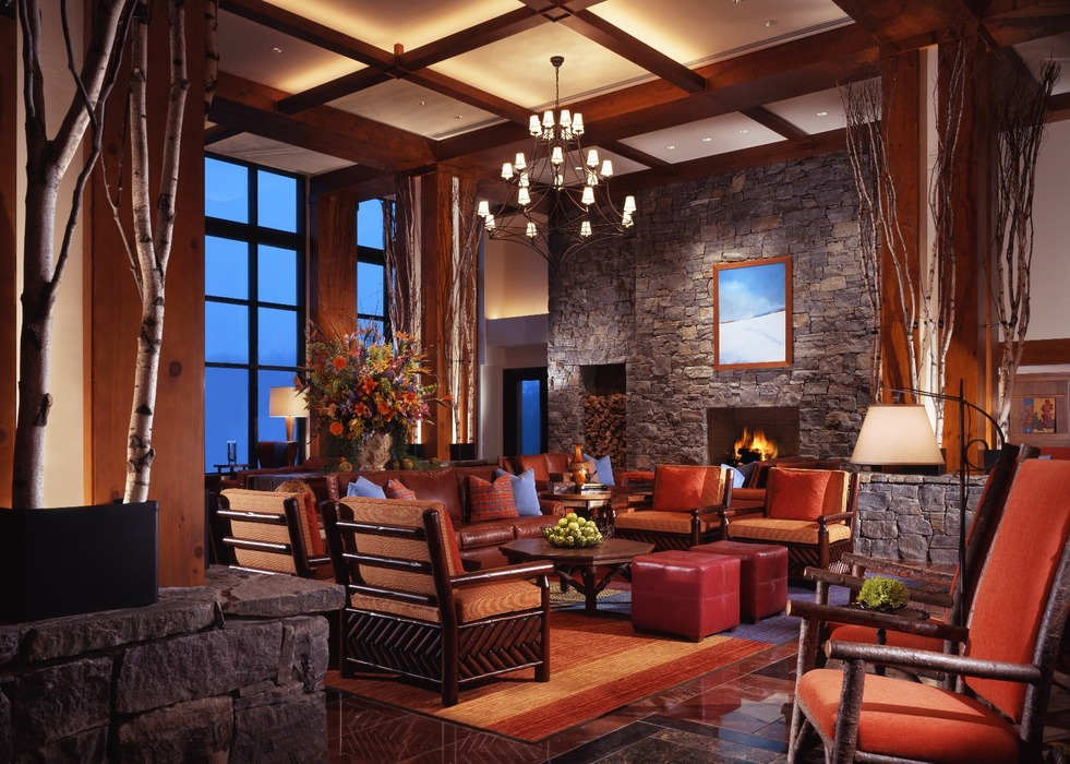 Stowe Mountain Lodge Lobby - ©Stowe Mountain Lodge