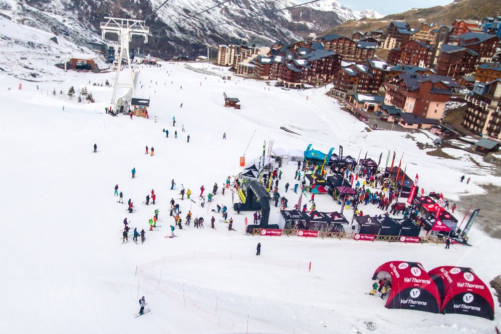 Ski Force Winter Tour 2013 in Val Thorens