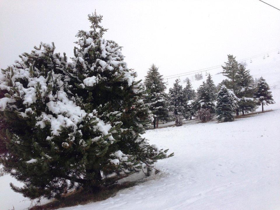 Fresh snow in Les Deux Alpes Nov. 27, 2012 - ©Les Deux Alpes