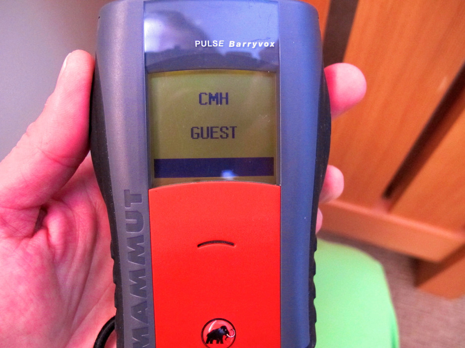 Even the beacons are customized at CMH