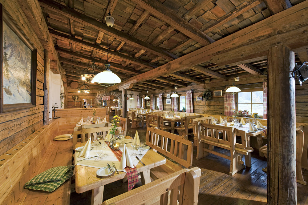 The Grander Schupf restaurant in St. Johann in Tirol
