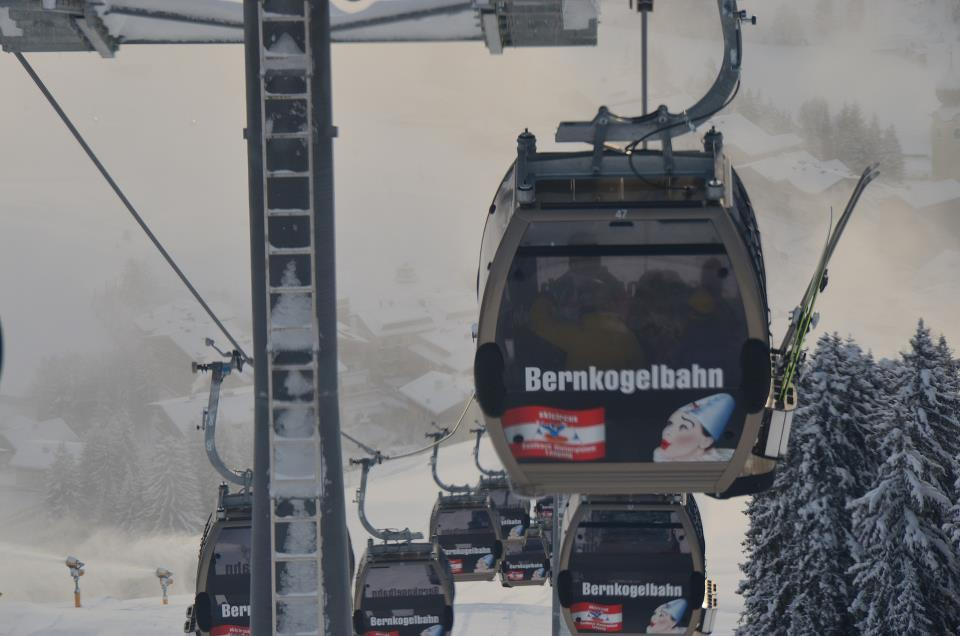 Lifts are running in Saalbach-Hinterglemm. Dec. 7, 2012 - ©Saalbach-Hinterglemm