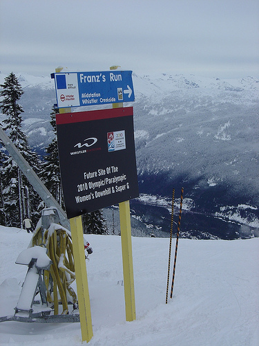 Franz's Run in Whistler, Canada. - ©Dan O'Leary