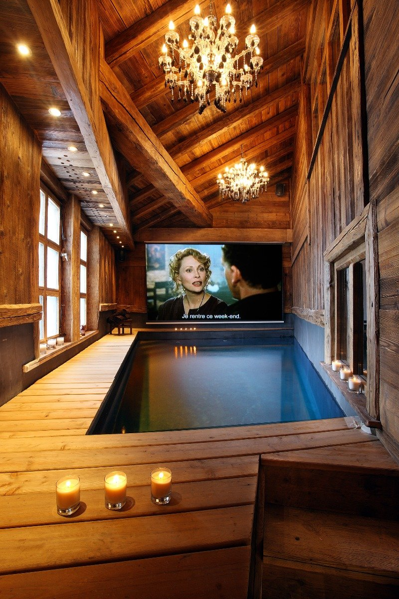 Pool at Chalet Lhotse, Val d'Isere
