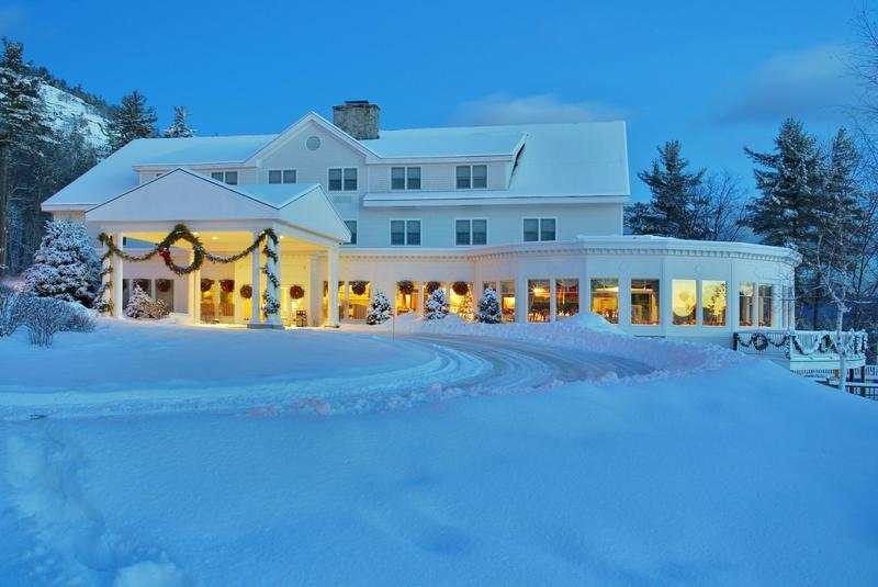 White Mountain Hotel & Resort near Cranmore Mountain. Photo Courtesy of White Mountain Hotel & Resort.