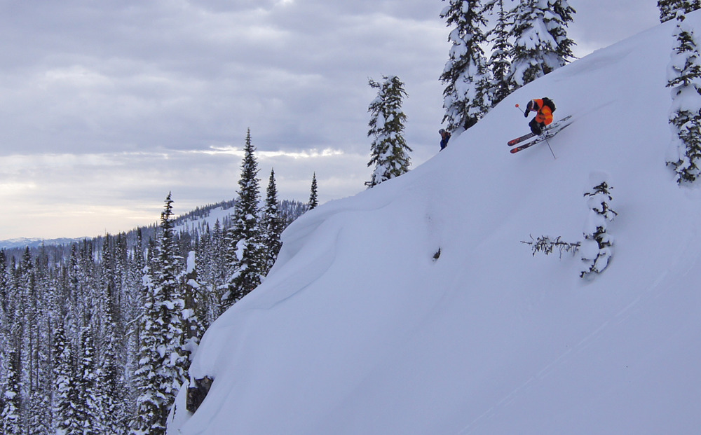 Cat skiing at Brundage Mountain. Photo courtesy of Brundage Mountain Resort.