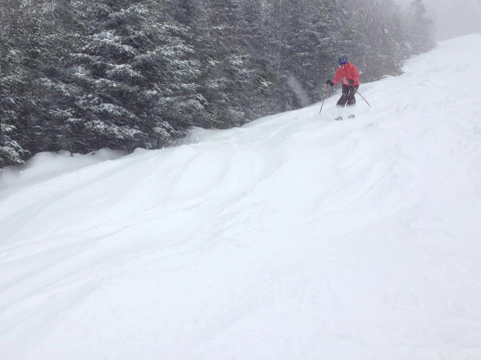 Sunday River is in store for more snow, 12/27/2012.