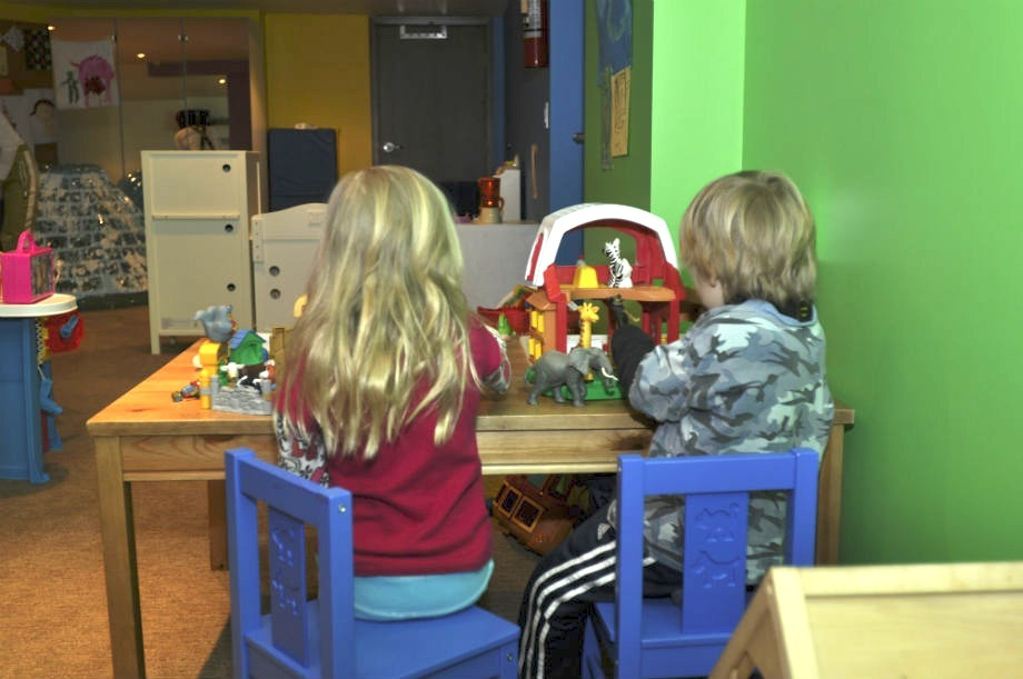 Kids ROC provides an indoor game area. Photo courtesy of Revelstoke Mountain Resort.