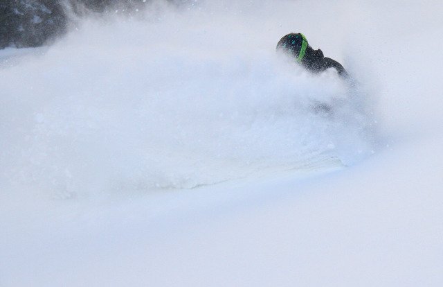 Pow days have been a familiar scene for Sugarbush skiers and riders this season. Photo Courtesy of Sugarbush.