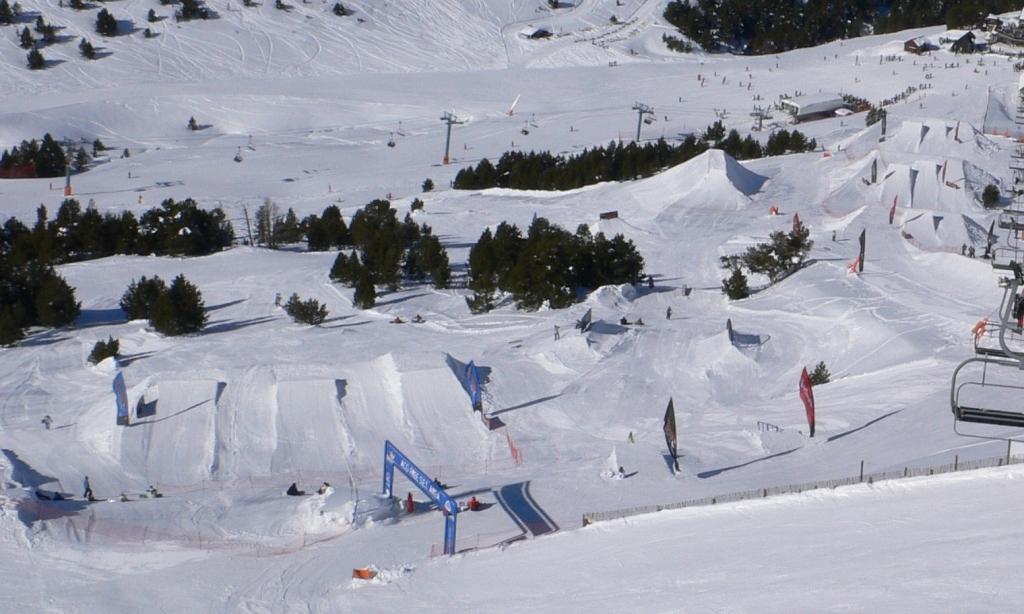 Snowpark Grandvalira - ©Grandvalira