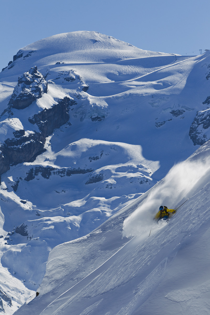 Freeride in Engelberg