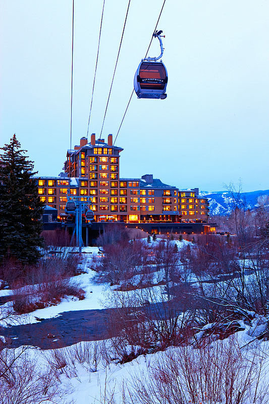 The Westin Riverfront has a gondola directly to the slopes of Beaver Creek.