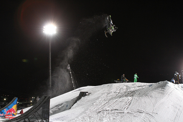 Heath Frisby was the first rider ever to throw a front flip in competition winning X Games Gold.