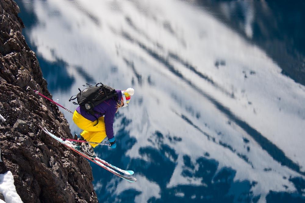 US freeskier, Jess McMillan