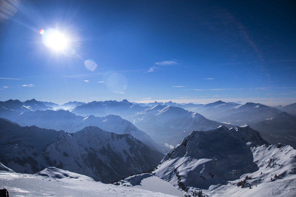 Spectacular views of 400 peaks from Oberstdorf - Nebelhorn, Germany