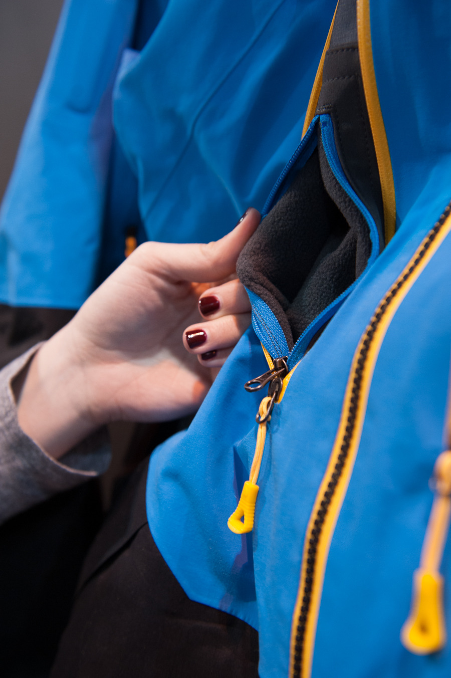 The pocket within the pocket from The North Face Steep Series.