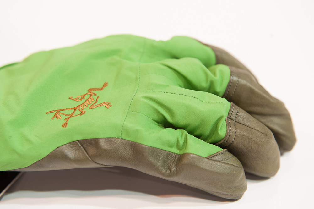 Arc'Teryx Gloves. - ©Ashleigh Miller Photography
