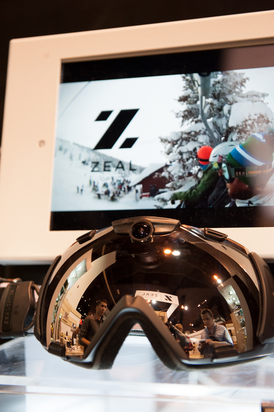 The Zeal Optics HD Camera Goggle. - ©Ashleigh Miller Photography