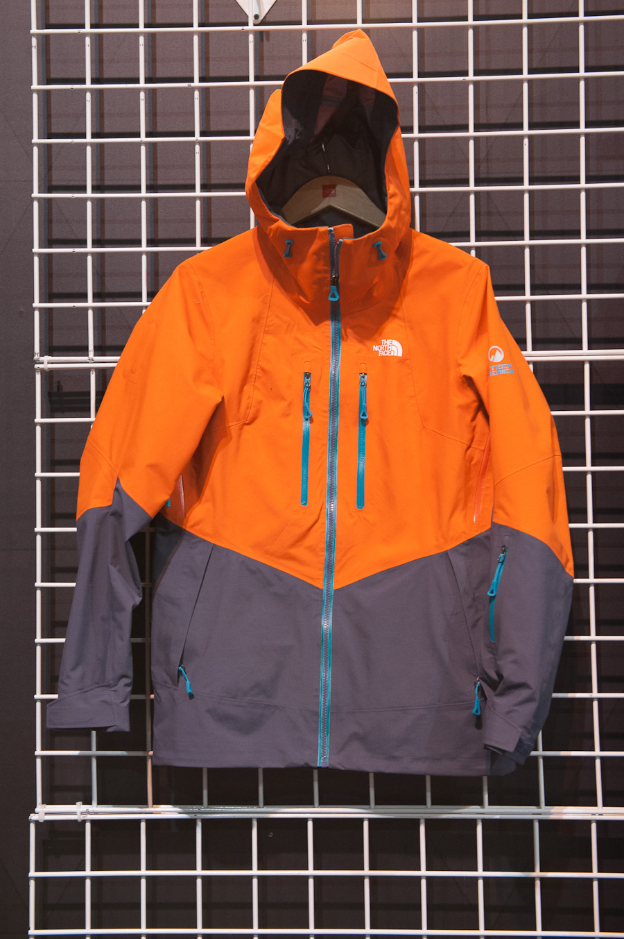 The North Face's female pro riders wanted the same features on the Free Thinker jacket as the guys, but with some more