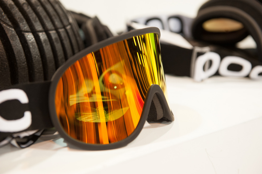 The Retina Big goggle from POC features a huge field of vision. It's super flexible thanks to a high quality lens and frame, and provides more comfort with less chance of cracking.