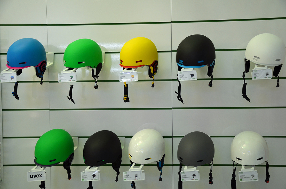 Uvex Freeride Helmet Collection 2013/14