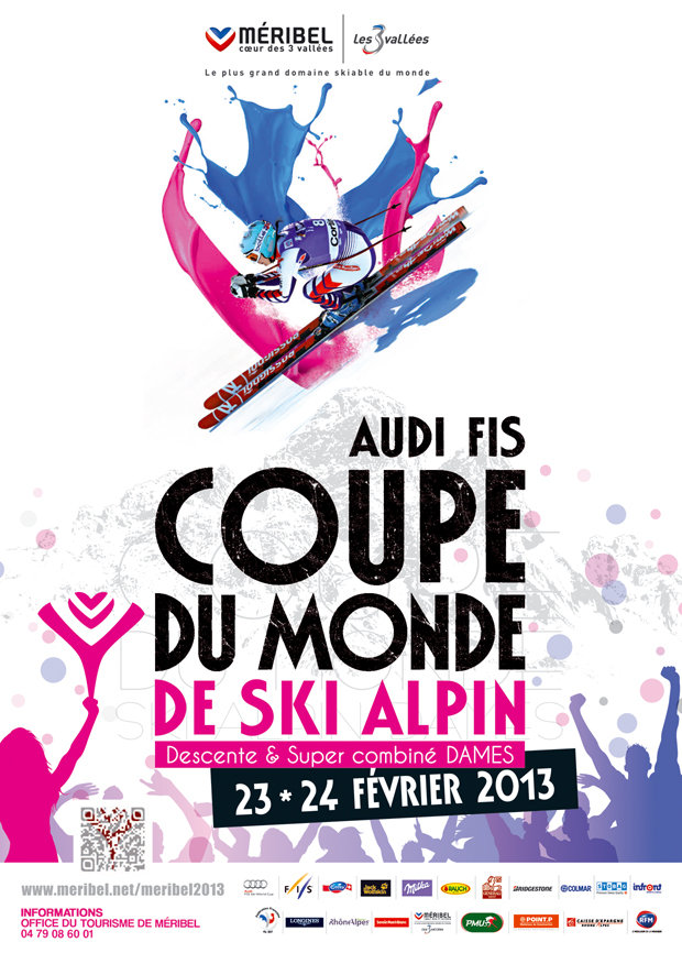 23 & 24 February 2013 (Downhill & Super combined)